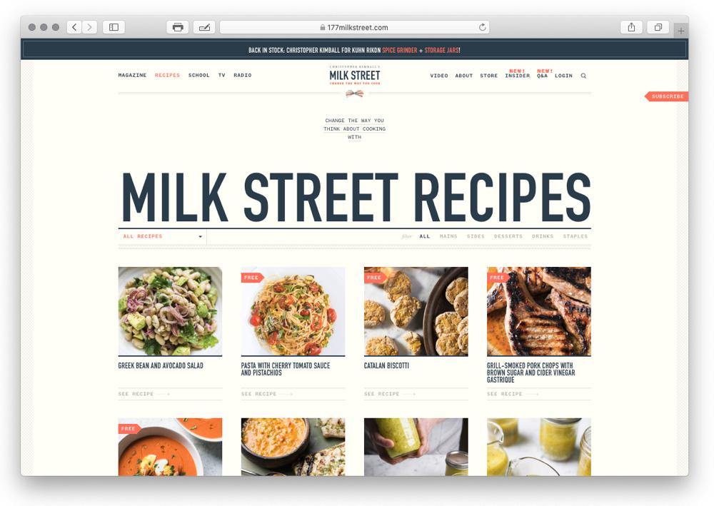 Case Study Milk Street