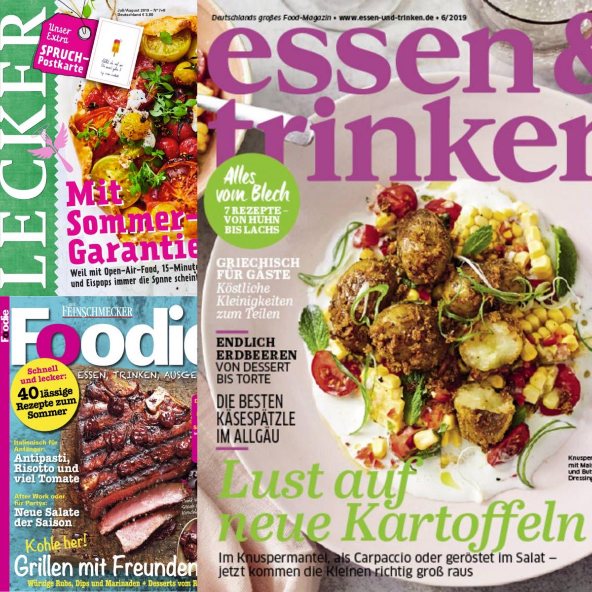 Foodmagazine aus Deutschland