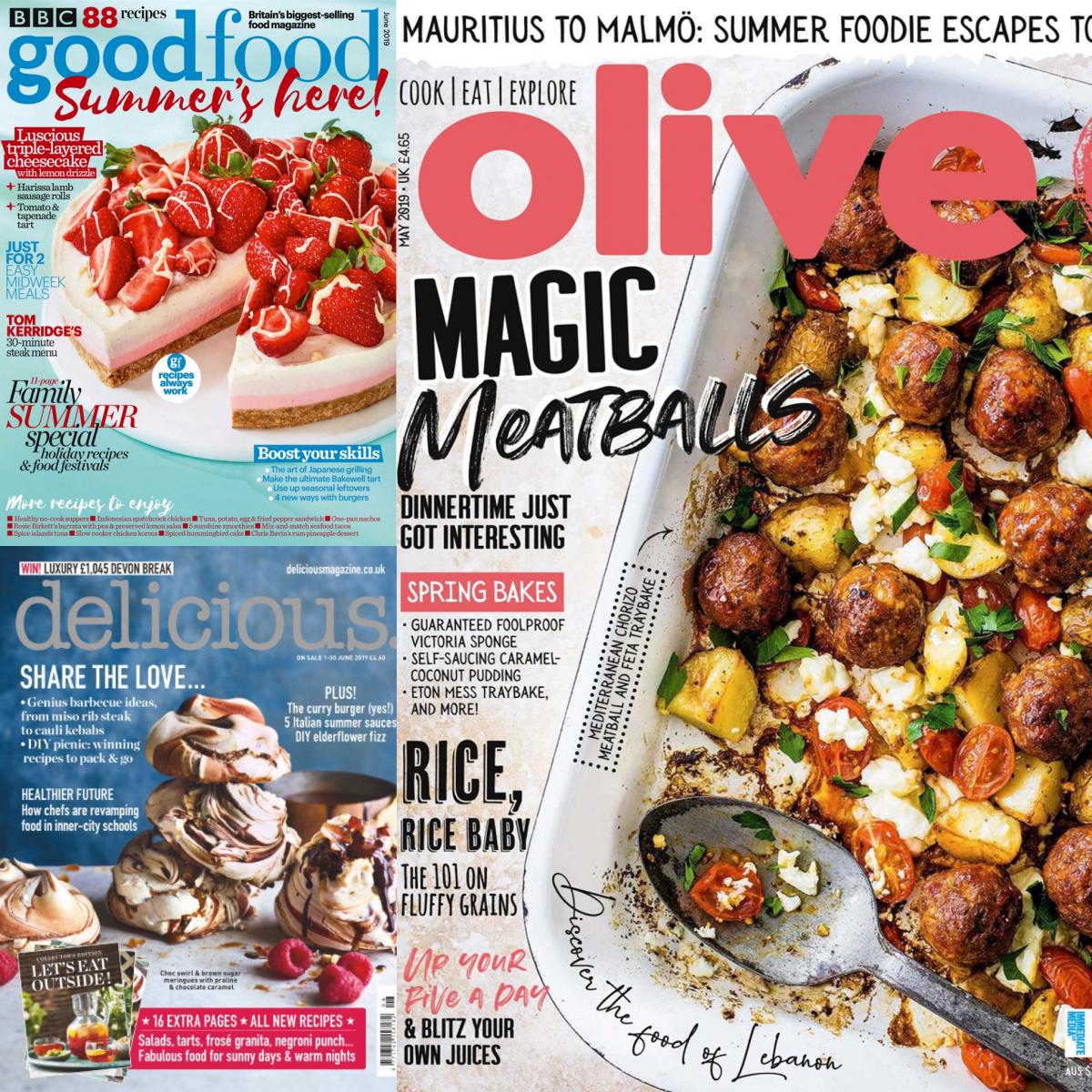 Foodmagazine aus Großbritannien