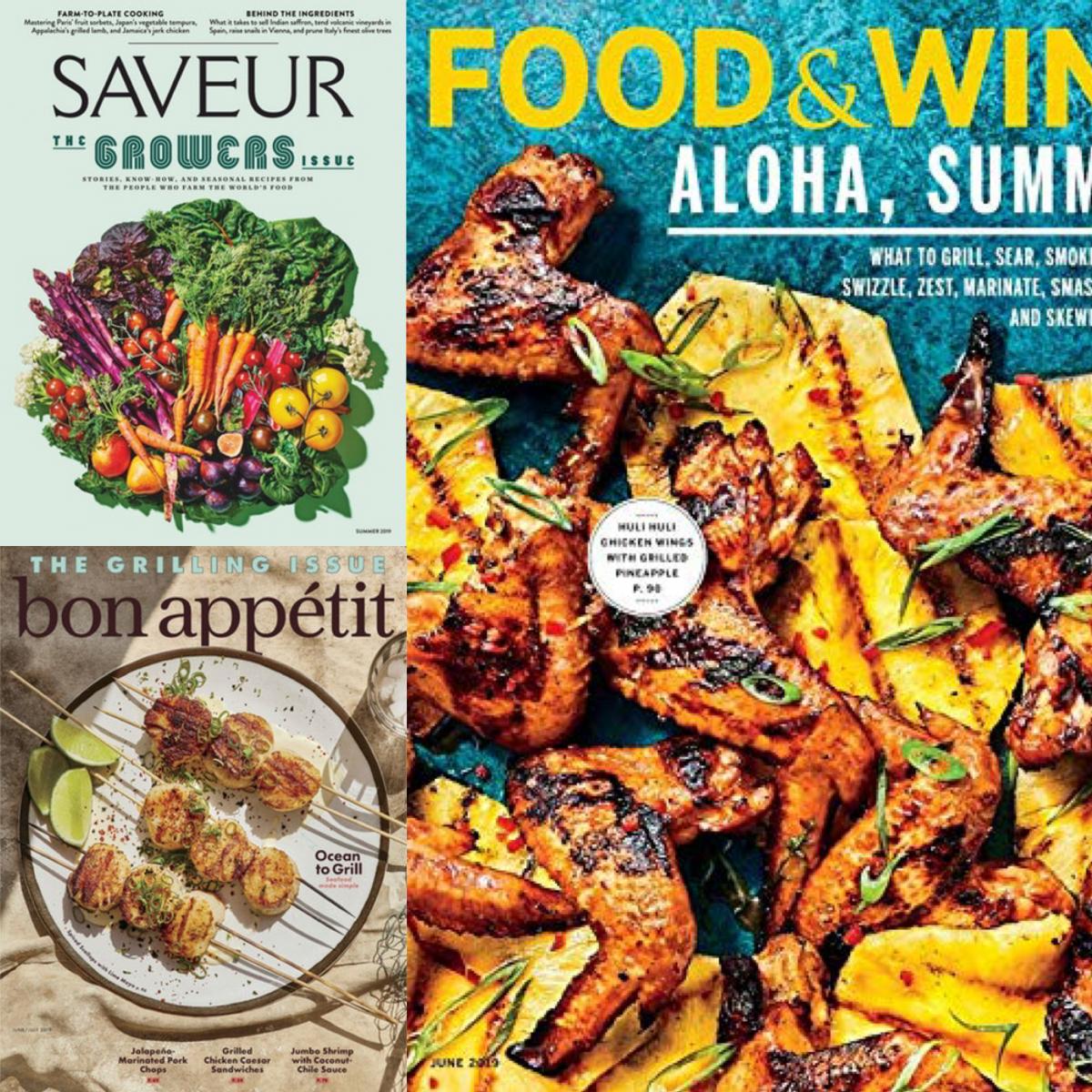 Foodmagazine aus den USA
