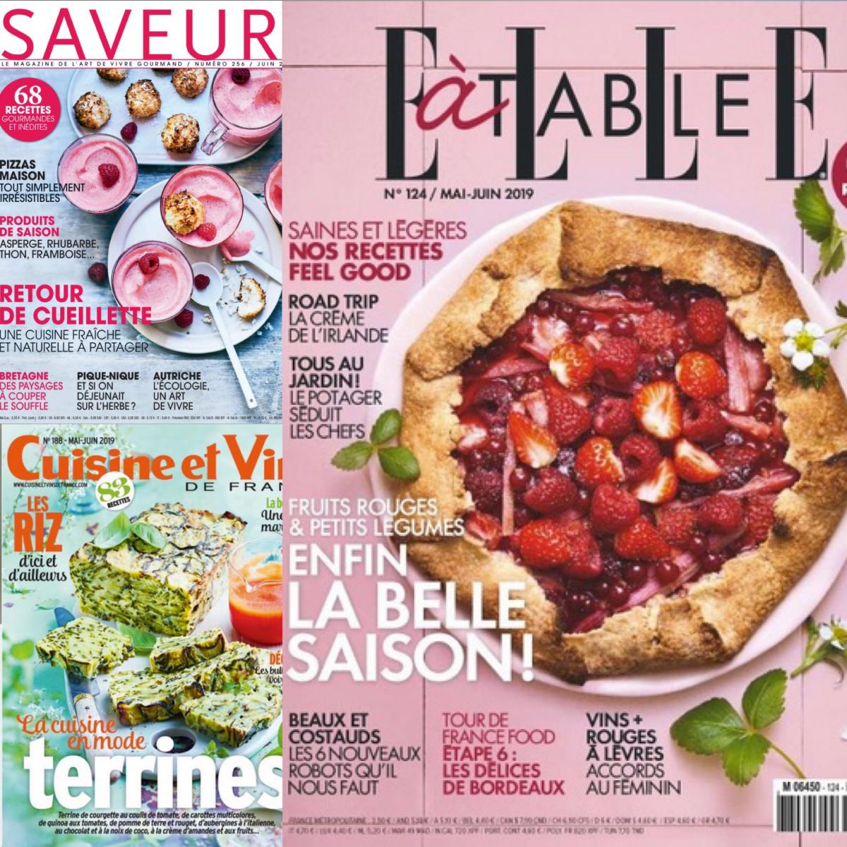 Französische Foodmagazine