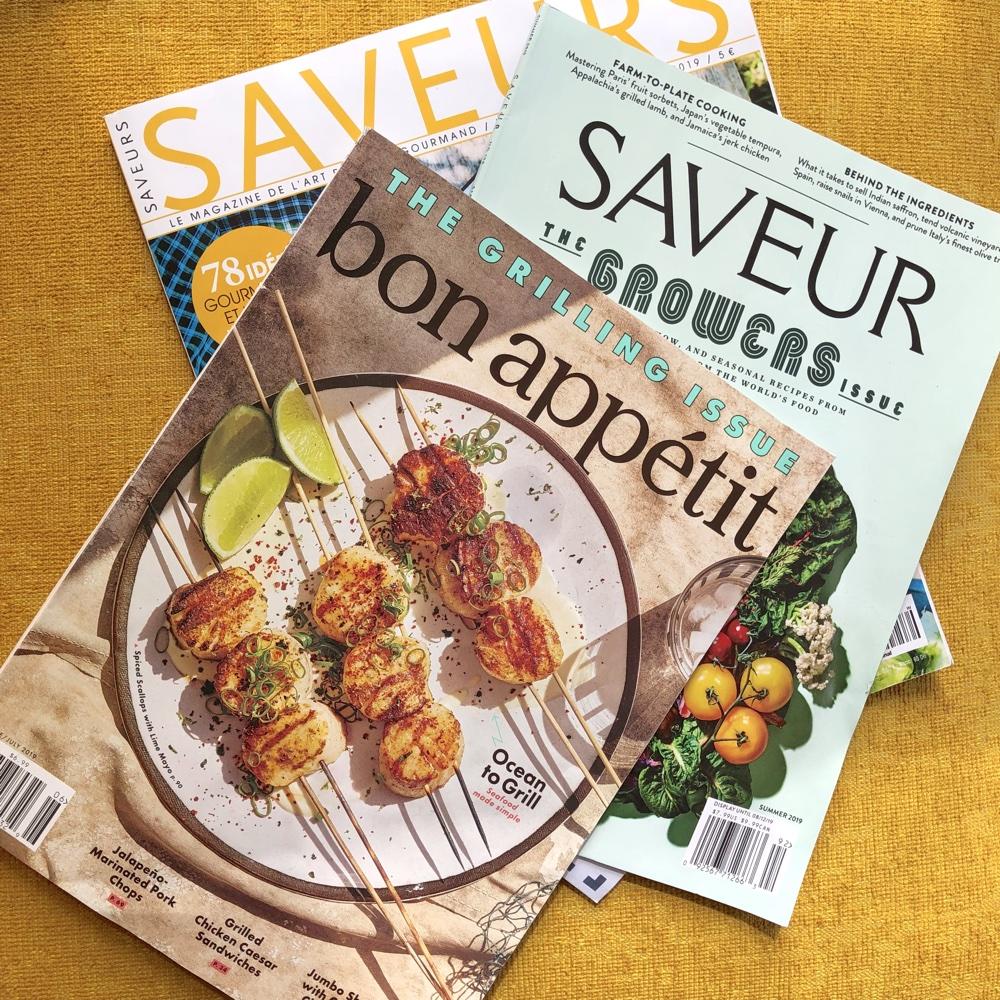 Foodmagazine im Vergleich